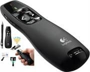 Logitech R400 Presenter - (Red Laser Pointer