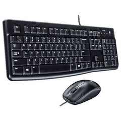 Logitech Mk120 Corded Keyboard And Mouse