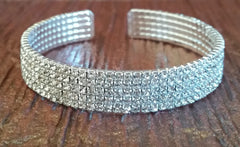 Rhinestone Crystal Bangle