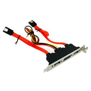 Sata Adapter With Power Bracket