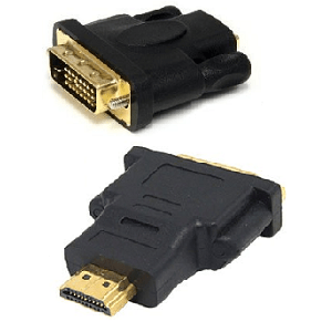 Dvi (24 1) Male To Hdmi Male Adapter
