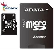 ADATA 32GB Micro SD With SD Adapter Card - CLASS 4