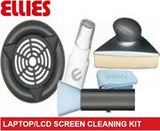 "Ellies Professional Laptop and LCD Screen Cleaning Kit ""Includes Triangular design Flat screen cleaner"