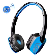SADES D201 Bluetooth 4.1 Stereo Earpiece Headset Gaming Headphones with Mic for iPhone 6 / 5 / 4 Samsung Galaxy S6 / Note 5 PC Computer Game Machine(Blue)