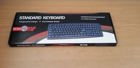 Usb Keyboard Black