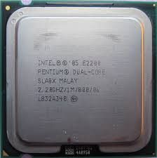 Intel Dual Core E2200 2.2Ghz Sckt775