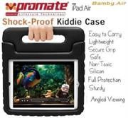 Promate Bamby.Air Shockproof Impact resistant case with convertible stand Colour:Black