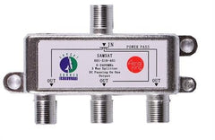 Aerial King Cable Splitter 3-Way (5-2150mhz) 1 X DC