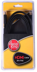 Aerial King Lead 2m F Connector to F Connector - Blister Pack