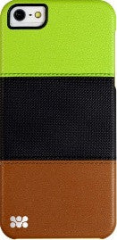 Promate Pancy iPhone 5 Multi-Colored Protective Case Colour: Green/Black/Brown