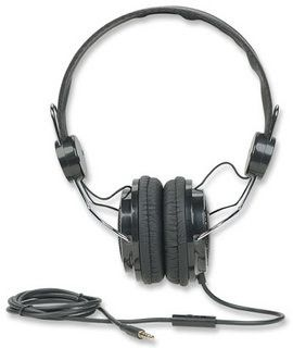 Manhattan Elite Stereo Headset - Lets you pause music to converse