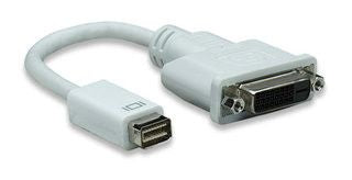 Manhattan Mini DVI 32P to DVI 25F Cable-Easily connects a mini-DVI source with DVI-D cable