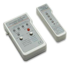 Intellinet Multifunction Cable Tester RJ45 (Wire Pair) Tests RJ-11 and RJ-45