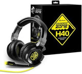 Sharkoon SHARK Zone H40 Gaming PC-Headset Stereo with 50 mm Speaker Black - Zasttra.com