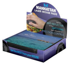 Manhattan Design Laser Mouse Pad- 24 Pad per Box