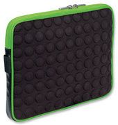 Manhattan Universal Tablet Bubble Case - Universal Green/Black Tablet Case - Green