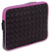 Manhattan Universal Tablet Bubble Case - Universal Green/Black Tablet Case - Pink