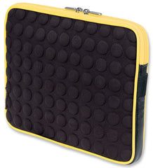 Manhattan Universal Tablet Bubble Case - Universal Green/Black Tablet Case - Yellow
