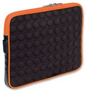 Manhattan Universal Tablet Bubble Case - Universal Green/Black Tablet Case - Orange