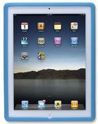 Manhattan iPad 2 & 3 Silicon Slip-fit Sleeve Colour:Blue