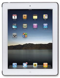 Manhattan iPad 2 Silicon Slip-fit Shell Colour:Smoke Gray
