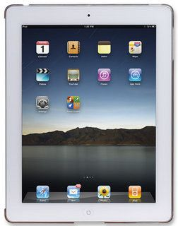 Manhattan iPad 2 Silicon Slip-fit Shell Colour:Crystal