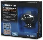 Manhattan Mega Web Camera 7.6 Mega Pixel image resolution with powerful 4x digital zoom function and with Auto Tracking and Built-in Microphone