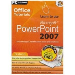 Apex Gsp Learn To Use Pwrpoint 2007 PC