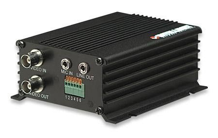 Intellinet NVS30 Network Video Server - Analog video BNC Input and Analog Video BNC Loop-through Port