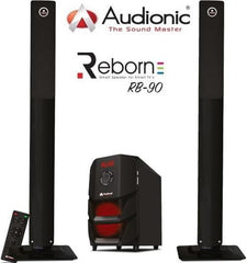 Audionic Reborn RB-90 2.1 Channel Tall Boy Hi Fi speakers with FM radio