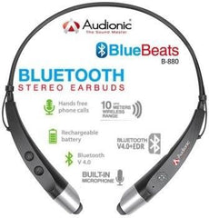 Audionic B-880 Bluebeats Stereo Bluetooth Earphones with Neckband