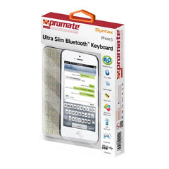Promate Syntax Cover Charger And Bluetooth Keyboard For iPhone 5 Retail Box 1 Year Warranty