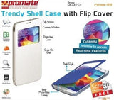 Promate Fenes S5 Bookcover with window Colour:White - Zasttra.com