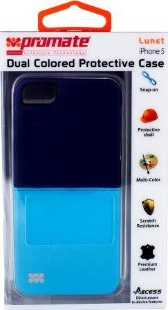 Promate Lunet iPhone 5 Durable case with a cut-out design