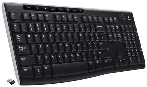 Logitech K270 Wireless Keyboard -Full-size layout with unifying receiver