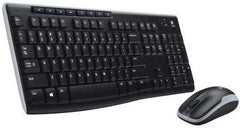 Logitech MK270 Wireless Desktop - Compact Design