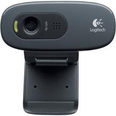 Logitech C270 HD Webcam - 3MP Still Images