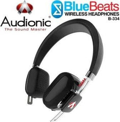Audionic BlueBeats B-334 Wireless Bluetooth HeadPhones - Black