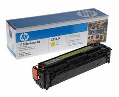 HP #125A Color LaserJet CB542A Yellow Print Cartridge. Prints approximately 1 400 pgs using the ISO/IEC 19798 yield standard