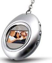 Esquire Heart Necklace Photo Frame Colour:Silver