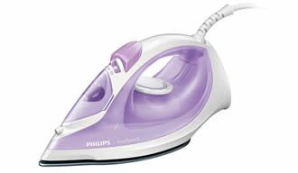 Philips EasySpeed Steam iron GC1026/30 Steam 20g/min;90g steam boost Non-stick soleplate Anti-calc 2000 Watts with Non-stick soleplate Retail Box 1 year warranty