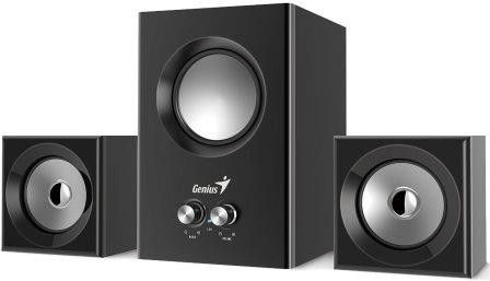 Genius SW2.1 375 Desktop 2.1 Speakers - 12W RMS