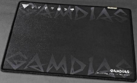 Gamdias NYX- Speed type (M) Essential Edition GMM2300 Gaming Mouse Pad Double-layer fabrics