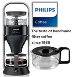 Philips Caf© Gourmet Coffee maker HD5407/60 With glass jug Boil and brew system Black Retail Box 1 year warranty
