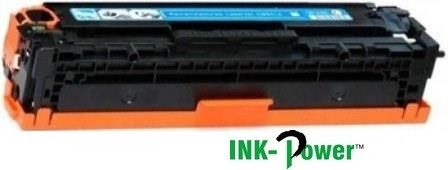 Inkpower Generic Toner for HP 128- CE321A for use with HP models: LaserJet CM1415fnw; LaserJet Pro: CM1415fn