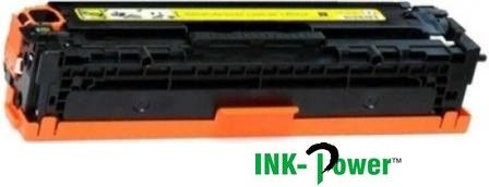 Inkpower Generic Toner for HP 128- CE322A for use with HP models: LaserJet CM1415fnw; LaserJet Pro: CM1415fn