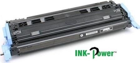Inkpower Generic Toner for HP 124A - Q6000A for use with HP Color LaserJet 1600 / 2600N / 2605 / 2605DN / 2605DTN / CM1015 MFP / CM1017 MFP-Page Yield 2500pgs-Black