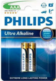 Philips Power Life 4 x AAA Size / LR03 Power Alkaline batteries