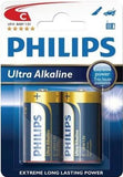 Philips Ultra Alkaline Battery LR14E2B 2 x Type C / LR14 Ultra Alkaline Batteries