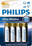 Philips Power Life 4 x AA Size / LR6 Power Alkaline batteries